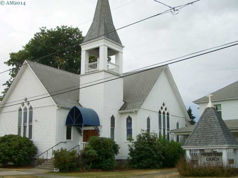 The Presbyterian church in Creswell, Oregon.