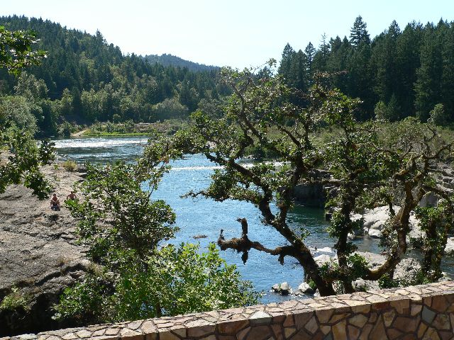 The North Umpqua and Little Rivers meet head on in Glide, Oregon.