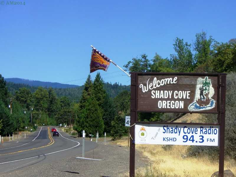 Shady Cove Oregon Is On The Rogue River Between Gold Hill And Lost