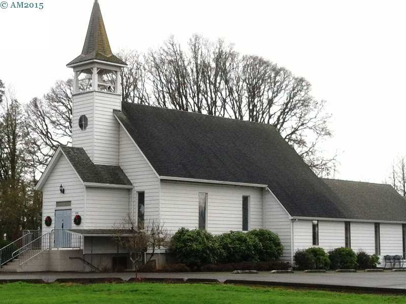 The United Methodist church in Marquam, Oregon.