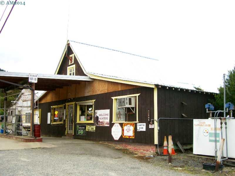 The Days Creek, Oregon store.